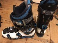Salomon Rocker2 108 (182cm) & Quest Max BC Boots (28.5)