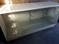 Glass fronted display counter