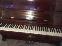 Waldstein mahogany finish piano - stunning instrument