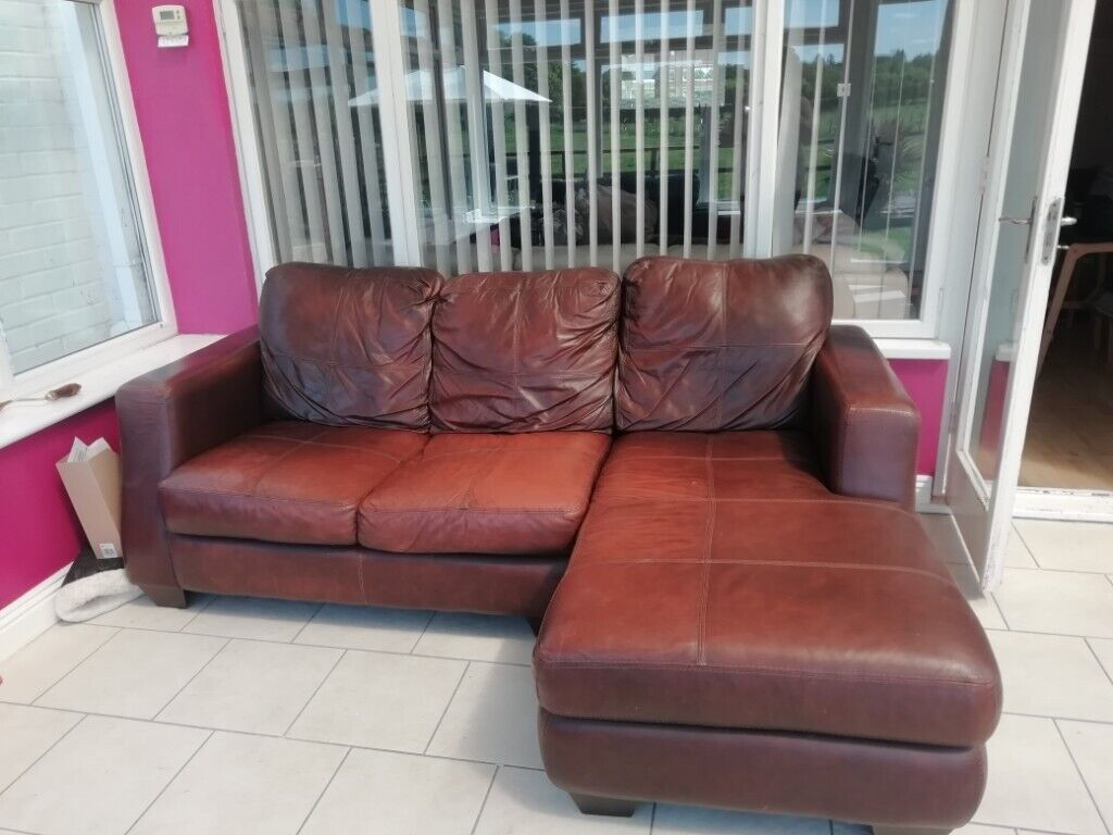 Leather sofas. | in Fordingbridge, Hampshire | Gumtree