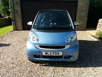 2011/11 Smart ForTwo - Passion - Very Low Miles FSH. Immaculate Condition - SATNAV - Panoramic Roof