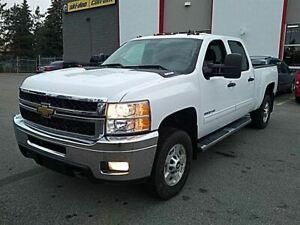 2011 Chevrolet SILVERADO 2500HD DURAMAX*CREW*LT*4X4*LEATHER SHOR