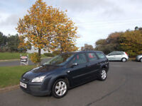 FORD FOCUS 1.6 TDCI DIESEL ESTATE STUNNING GREY NEW SHAPE 2007 BARGAIN ONLY £995 *LOOK* PX/DELIVERY