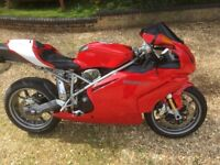 Ducati 999 ready for summer riding