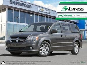 2016 Dodge Grand Caravan Crew Plus w/ Leather/NAV & Dual DVD!!