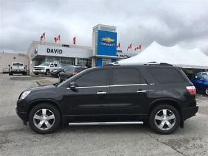 2012 GMC Acadia SLT1 FWD, LEATHER, 8PASS, LOCAL TRADE