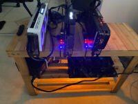Mining Rig RTX 3070 x 3 BRAND NEW OVER 200 Mh!! inc WITH WARRANTY! BEST QUALITY GUARANTEED