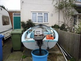 13ft boat with 4hp motor