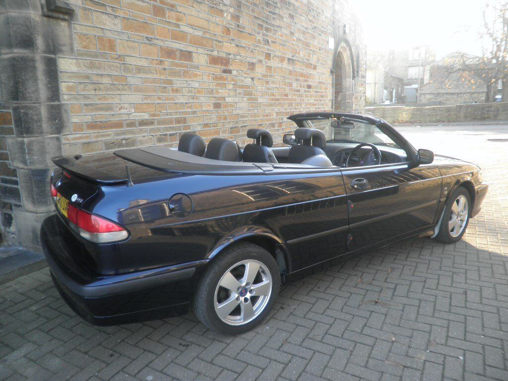Saab 9-3 Convertible 2.0 petrol Auto for sale £695 !!!