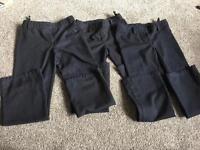 Next size 8 school trousers x4