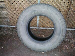 1 BF Goodrich All Terrain T/A KO Tire * LT285 70R17 121/118R * $30.00 .  M+S / Winter Tire ( used tire )