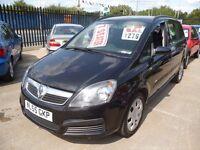 Vauxhall Zafira life,MPV,FSH,full MOT,great family car,clean tidy car,runs and drives very well