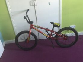 Mongoose Bmx ( 20inch) wheels can also add stunt pegs to it