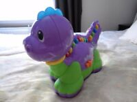 LEAP FROG LETTERSAURUS DINOSAUR - EDUCATIONAL TOY