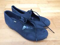 Dance shoes-tap shoes black size 13