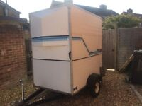 Aluminium box trailer