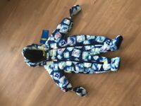 Ted baker baby boys snowsuit 3-6 mths