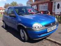 Vauxhall corsa Sting. 12 months MOT only 72k miles history alloys sunroof