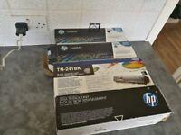 HP Laser Printer Toner Cartridges 125A Black Cyan