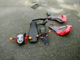 Honda msx 125 2014 spare parts
