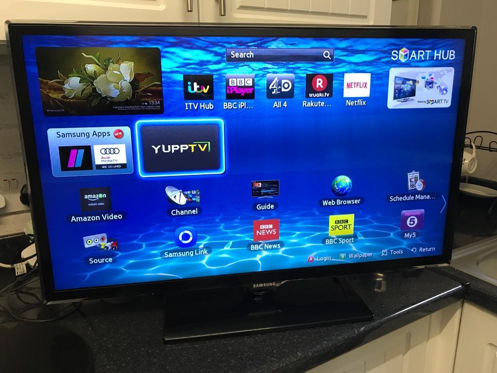 Samsung 32led Smart Tv With Built In Freeview In Ilford London
