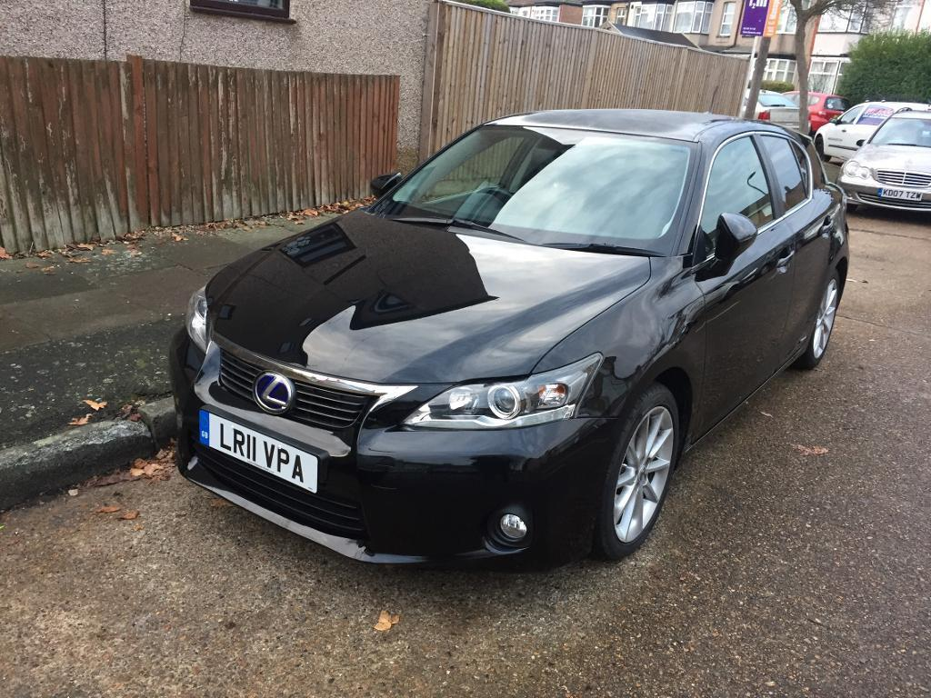 LEXUS CT200H HYBRID AUTOMATIC 2011 LOW MILEAGE FSH