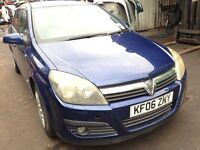 2006 Vauxhall Astra MK5 1.6 16v sxi 5dr ultra blue z 4cu z 21b BREAKING FOR SPARES