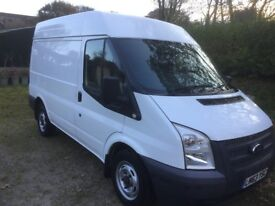 FORD TRANSIT 100 T260 FWD, 2013, 2.2LTR, MOT OCTOBER, SERVICED, 2 OWNERS, SUPER CONDITION