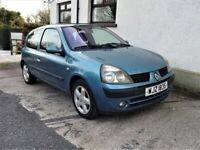 2003 Renault Clio 1.2 Dynamique 16v **Top Spec**Cheap running costs**fiesta,corsa,polo,ibiza,