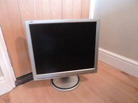 """19"""" Philips Computer Screen"""