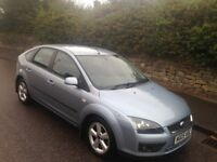 05 PLATE FORD FOCUS 1.6 CLIMATE 5 DOOR BLUE