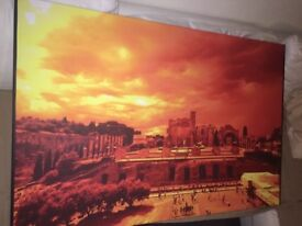 Big photo printed - Italy