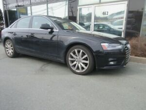 2013 Audi A4 2.0L TURBO W/ BROWN LEATHER