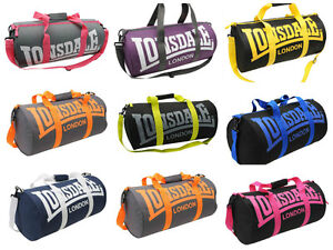 Lonsdale-Barrel-Gym-Sports-fitness-running-Bag-holdall-Various-colours