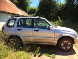 Suzuki Grand Vitara parts and spares