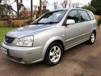Kia carens crdi se auto low mileage,one owner from new,fsh,2 keys,reliable,aa/rac welcome,p-ex also!