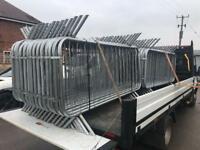 🍭Pedestrian Barriers * Top Quality * New * £15