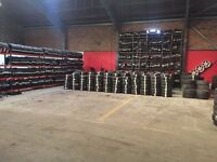 ** PART WORN TYRES FROM £15 FITTED **