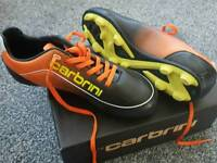 Brand new in box boys football boots
