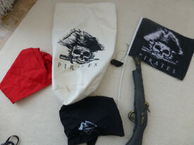 Pirate accessories set