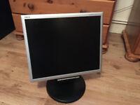 "NEC MultiSync LCD175VXM+ LCD monitor 17"""