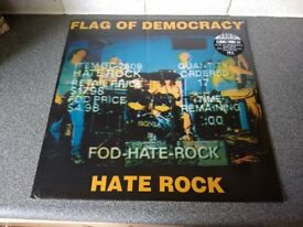FLAG OF DEMOCRACY - HATE ROCK - RSD RELEASE - BRAND NEW