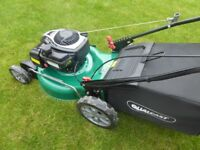 Qualcast 48cm Petrol Self Propelled Lawnmower