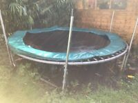 10ft Trampoline free to collector