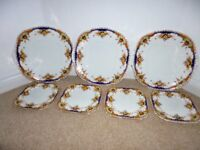 Taylor & Kent bone china serving/tea plates