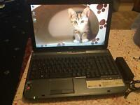 fast ACER ASPIRE 5535 AMD ATI Radeon dual core webcam DVD excel working no offers