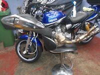 honda translap 700 standard end can and middle box section of 2010 bike