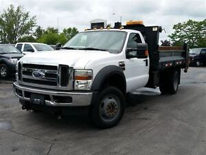 2010 Ford F-550 CHASSIS CAB 4X4-DUMP-DIESEL-C/W PLOW AND SANDER