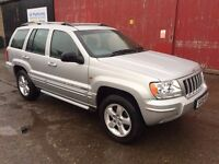 Jeep Grand Cherokee Limited XS 2.7 CRD Automatic - 2005