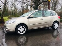 AS NEW Renault Clio 1.2 Dynamique Sport Tourer - vw golf polo ford fiesta focus astra jazz bmw audi